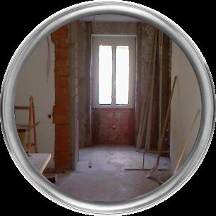 passiamo attraverso le fasi di demolizione, progettazione e ricostruzione
